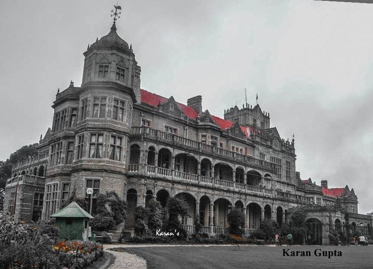 Grandeur of Indian Institute of Advanced Studies (Viceregal Lodge, Shimla)   By Karan Gupta