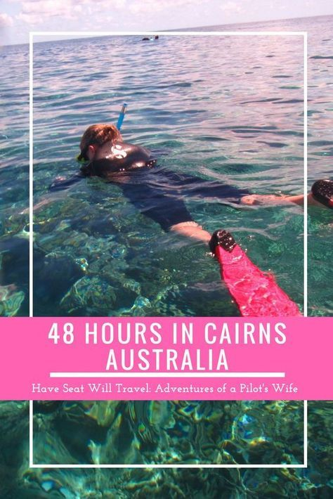 Discover all Cairns, Australia has to offer! Snorkel the Great Barrier Reef and cuddle koalas at Kuranda Village in the rainforest. There's so much to do!