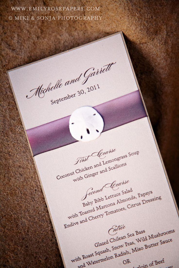 #handmade #wedding #invitations #ribbons #menus #miki & sonja photography