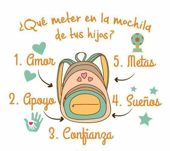 Inspira y anima a tu pequeño con estas frases cada vez que vaya a la escuela. #Escuela #Hijos #FrasesBonitas