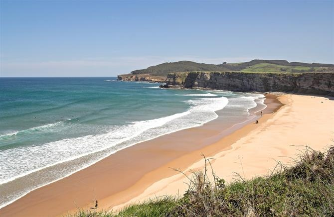 Cantabria - playa de Langre
