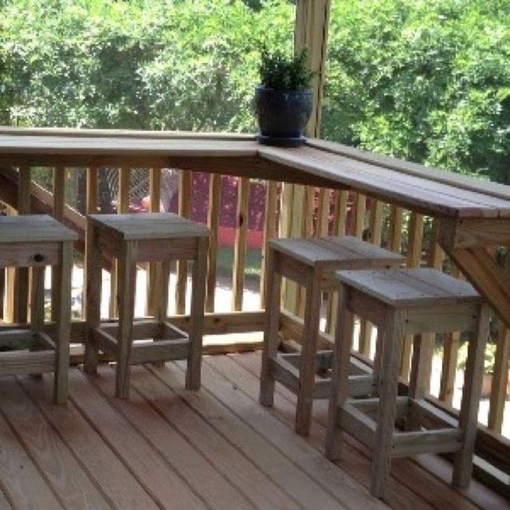 55 Design-Ideen für die Minibar auf dem Balkon