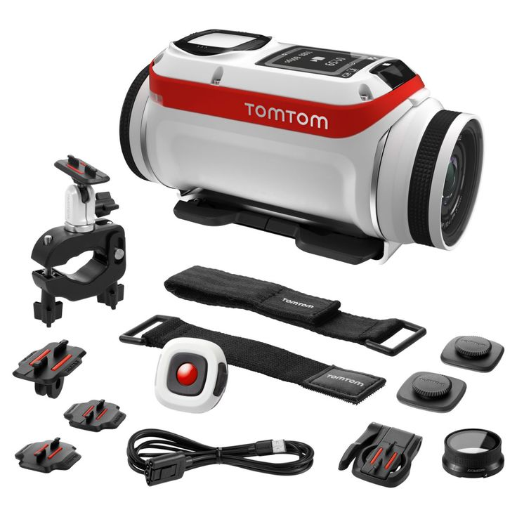 TomTom Bandit Action Camera Bundle   Helmet Cameras