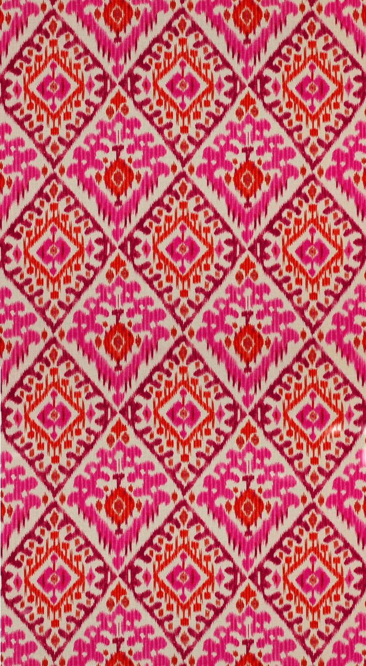 manuel canovas red diamond ikat style - euro pillows on all white bed
