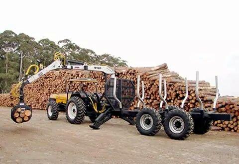 Remolque forestal hecho en colombia