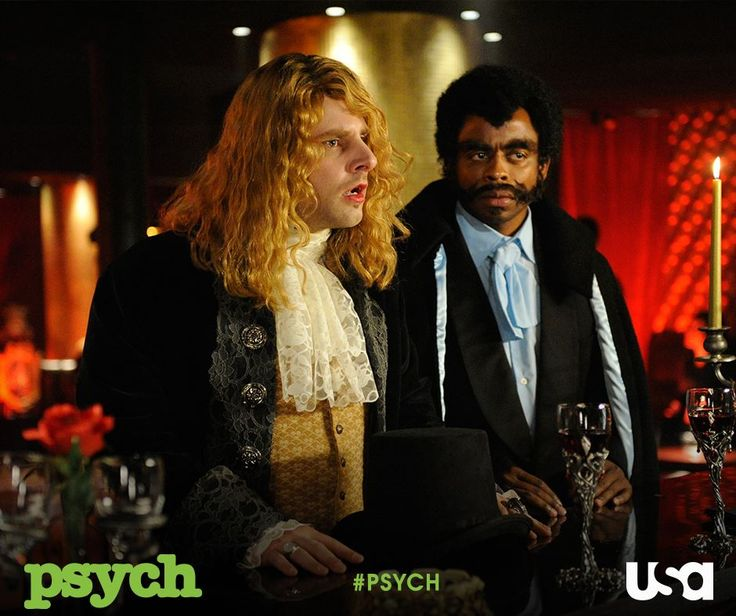 Mister Spencer and Blacula #psych