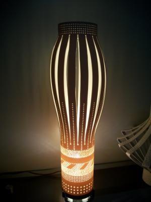 pontilhada e vazada luminaria em pvc cano de pvc,tubo de pvc,pvc rígido pontilhada e vazada