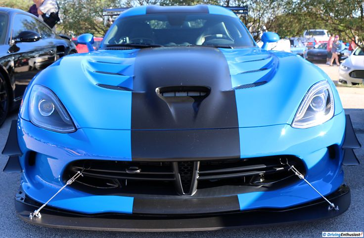 Dodge Viper. As shown at the September 2016 Cars and Coffee event in Austin TX USA