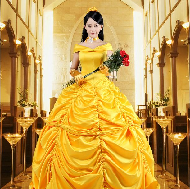 New 2015 Fantasia Women Halloween Cosplay Southern Beauty And The Beast Adult Princess Belle Costume-in Clothing from Novelty & Special Use on Aliexpress.com | Alibaba Group