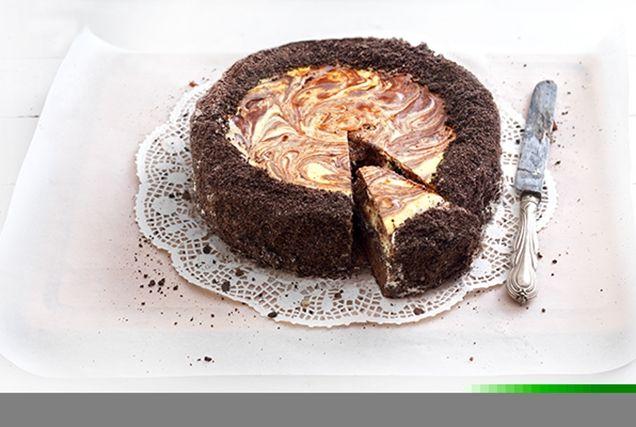 Απίθανο Brownie Cheesecake