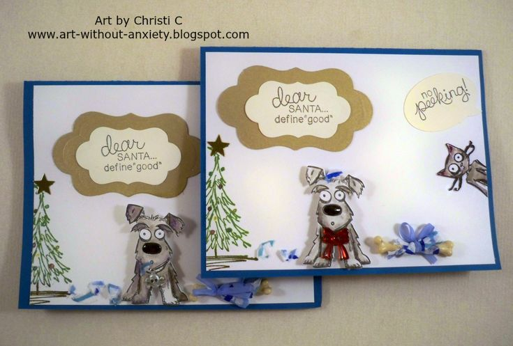 Christmas Has Gone to the Dogs! Tim Holtz Mini Crazy Dogs = holiday mayhem!