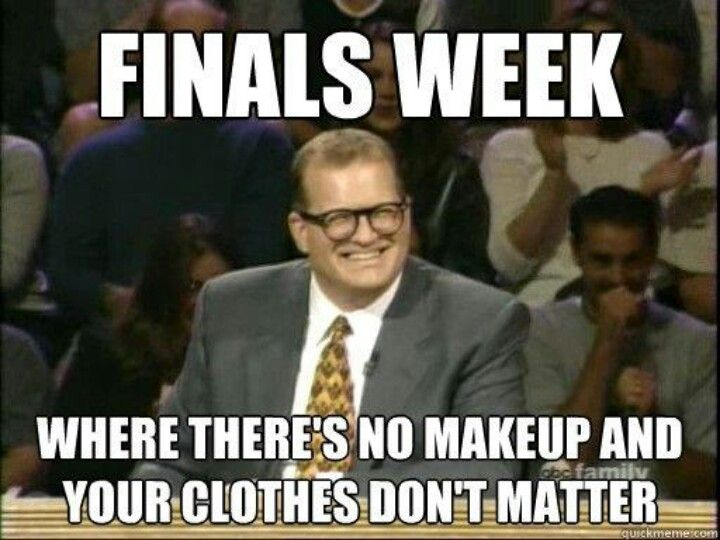Finals are coming :(