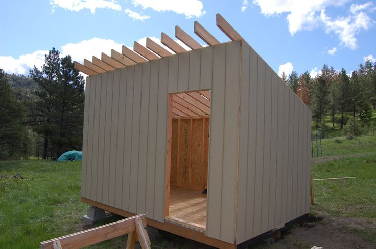 How to Build a Cheap Storage Shed Printable plans and a materials list let you build our dollar-savvy storage shed and get great results. Description from uk.pinterest.com. I searched for this on bing.com/images