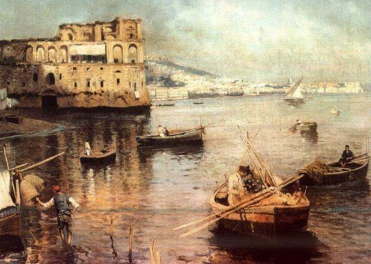 Palazzo Donn''Anna  by Attilio Pratella