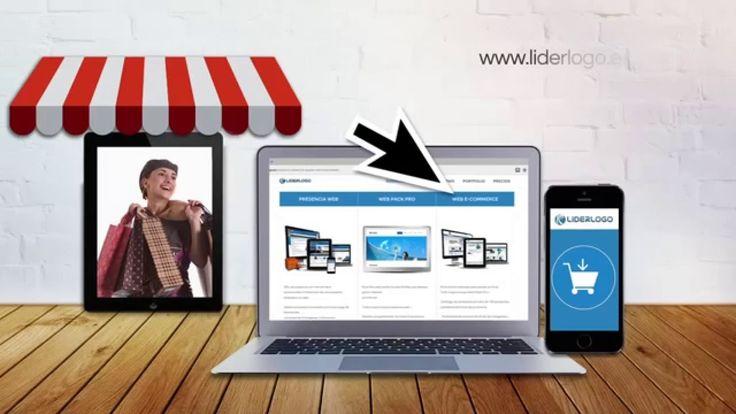Liderlogo - Diseño de eCommerce  Diseño web ecommece, para crear tu tienda online, con carrito de compras, catálogo de productos y muchas funcionalidades más.  Visita www.liderlogo.es y ¡consulta nuestros excelentes precios!