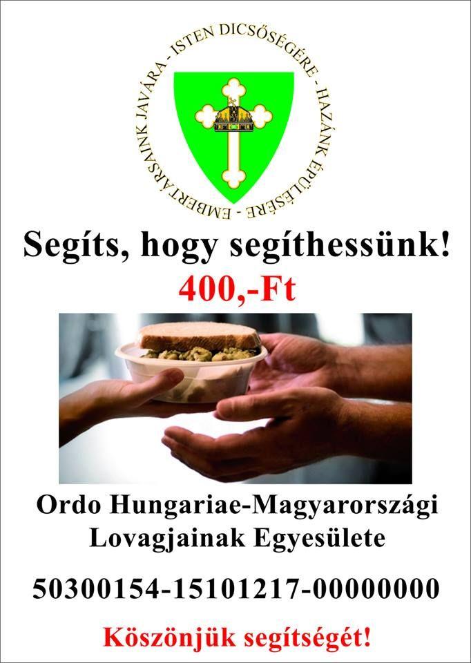 Segíts, hogy Segíthessünk Segítségüket kérjük, az adománygyűjtő molinóink kihelyezésére forgalmas helyen.  Üzenetben várjuk segítségüket/javaslataikat.