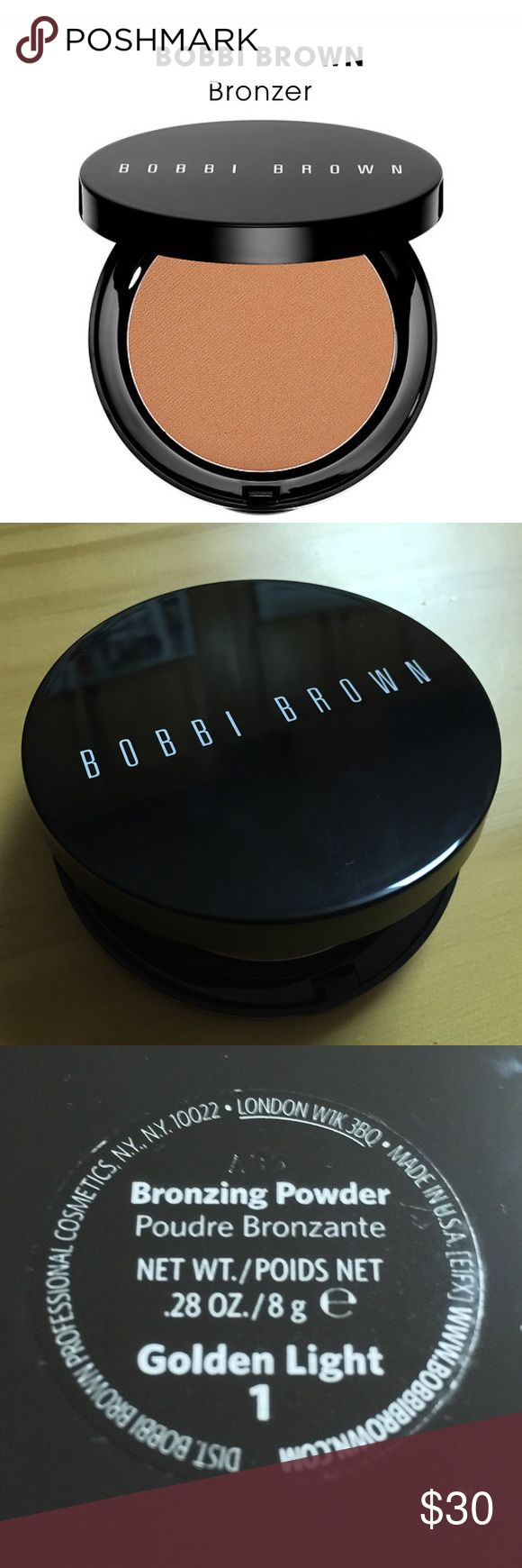 Bobbi Brown - Bronzer - Golden Light - light tan Brand new. No box. Never used. Bobbi Brown Makeup Bronzer