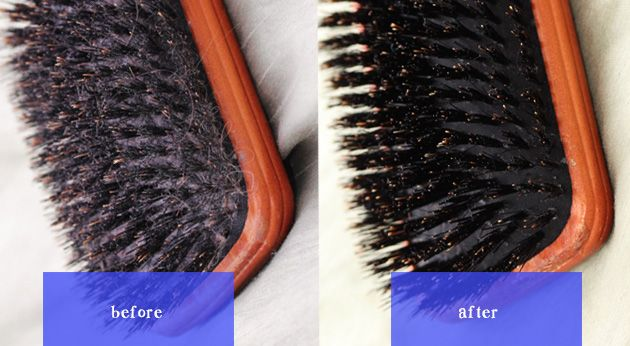 How to Properly Clean your Hair Brush Especially BOAR BRISTLE Brushes
