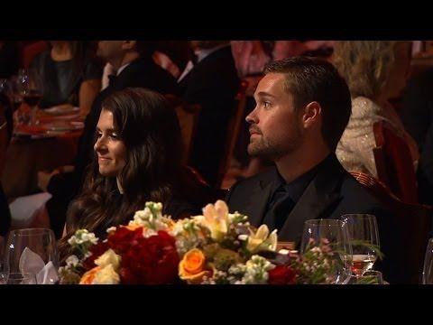 Jay Mohr Makes Fun of Danica Patrick at the NASCAR Sprint Cup Awards Banquet - 2013 - http://maxblog.com/2563/jay-mohr-makes-fun-of-danica-patrick-at-the-nascar-sprint-cup-awards-banquet-2013/
