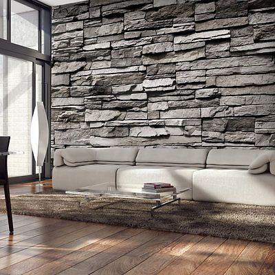 die besten 25 fototapete stein ideen auf pinterest fototapete steinoptik steinwand. Black Bedroom Furniture Sets. Home Design Ideas