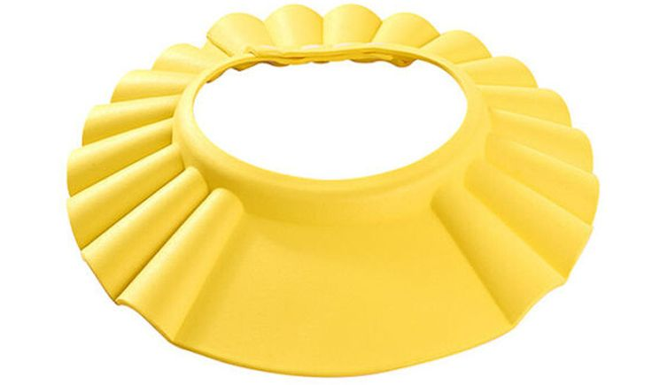 Adjustable Baby Toddler Kid Washing Hair Shampoo Shield Bathing Hat Visor