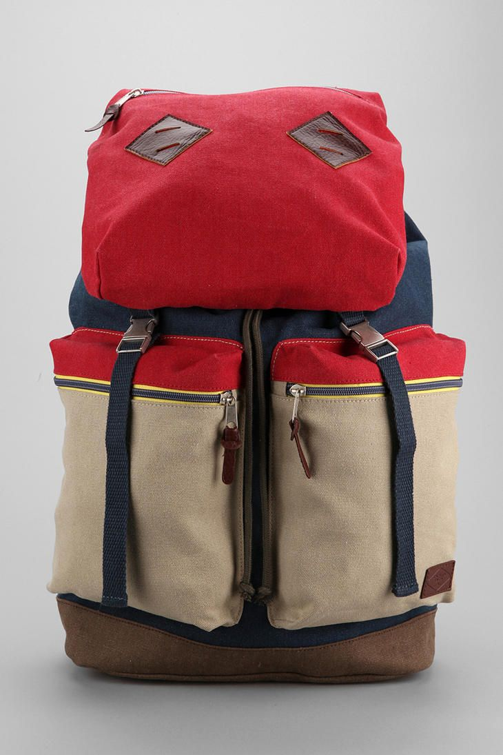 Spurling Lakes Colorblock Backpack #urbanoutfitters