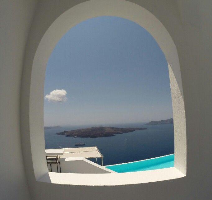 The best window! #santorini