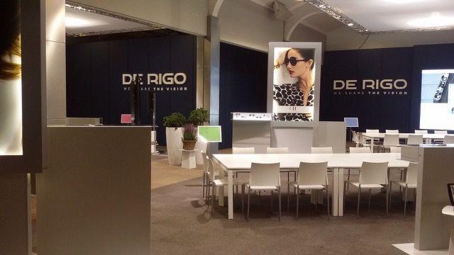 Set and scenic of SunDay, De Rigo Vision's annual event