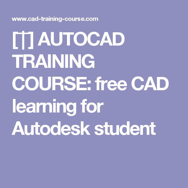 how to learn autocad for free