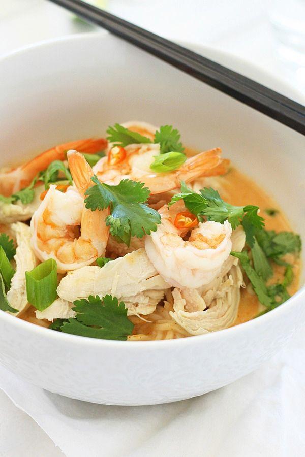 インスタント麺が大変身!タイ風ココナッツカレーラーメンの作り方 - macaroni