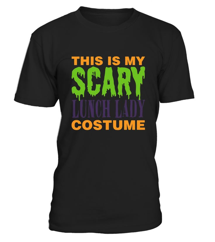 lunch lady scary halloween costume t shirt funny scary halloween t shirt best scary - Scary Halloween Shirts