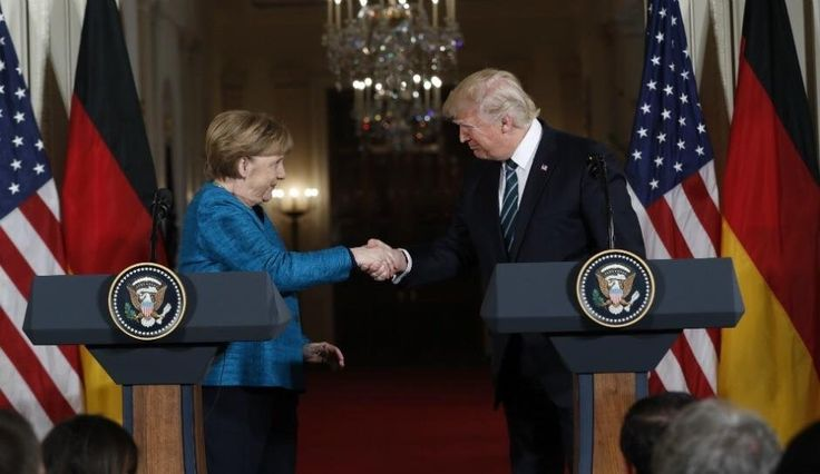 /r/[redacted] is creaming their panties because they claim President Trump didn't shake Merkel's hand, would be a shame if this reached /r/all: The_Donald