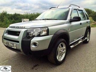 LHD 2006 LAND ROVER FREELANDER 2.0 DIESEL FREESTYLE TD AUTO SILVER LEFT HAND DRIVE Newark Picture 1