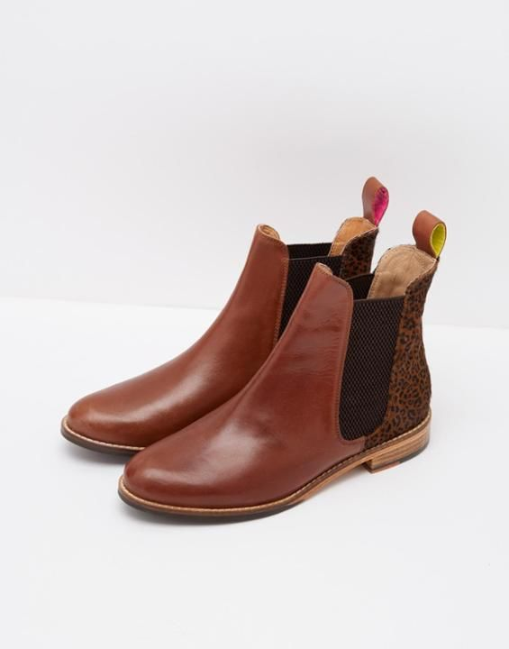 WESTBOURNELeather Chelsea Boots