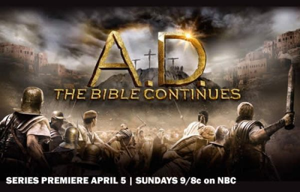 """A.D. The Bible Continues"" is a 12-part, epic mini-series event and it premieres Easter Sunday, April 5th 9-10 p.m. ET/PT on NBC. Plus watch the making of this series."