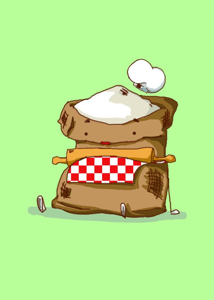 Flou   #illustration #drawing #draw #cute #food #chef #digitalart #design #artwork #graphicdesign #art #sketch #artofdrawing
