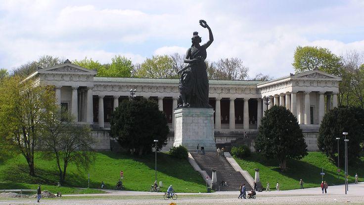 Munich (2016 Trip) Image = Bavaria statue at the Theresienwiese (Munich) (from https://upload.wikimedia.org/wikipedia/commons/b/b9/Bavaria_2.jpg)