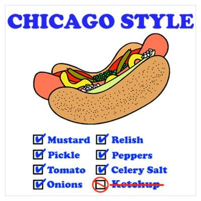 Chicago Hot Dog Ketchup Rule
