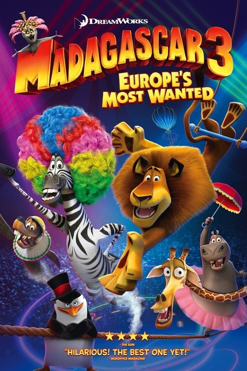 Watch Madagascar 3: Europe's Most Wanted 2012 Full Movie Online Free