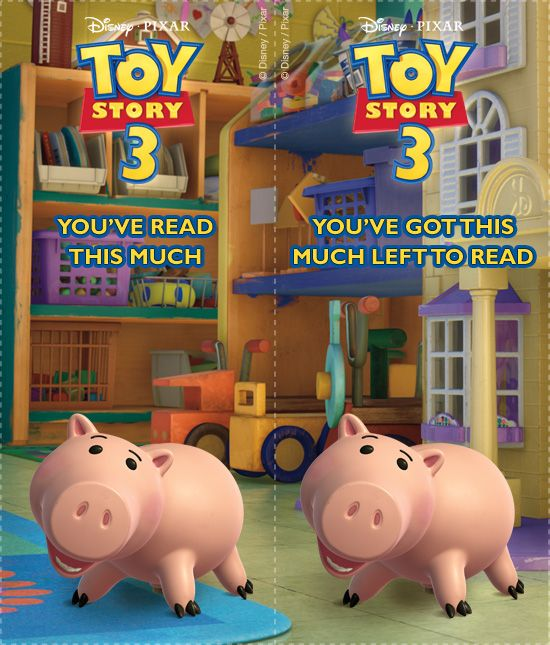 Toy Story Bookmarks 10