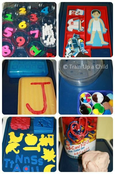 Great activities for developing fine motor