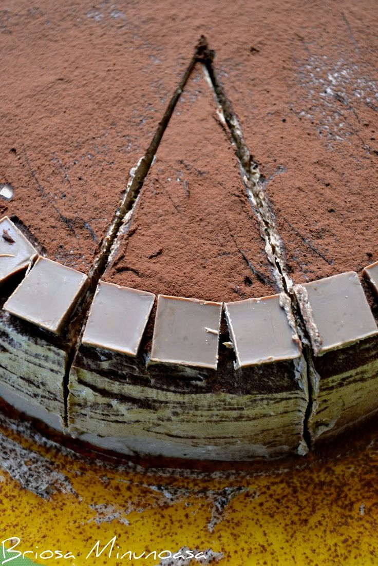 Tort de banane si ciocolata