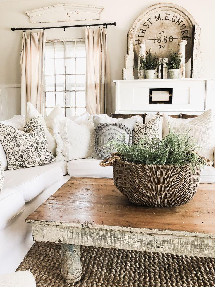 DIY Greenery Basket Decor - Liz Marie Blog