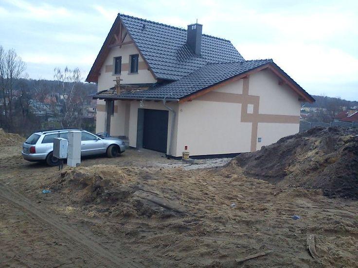 Projekt domu Alicja | http://www.mgprojekt.com.pl/alicja
