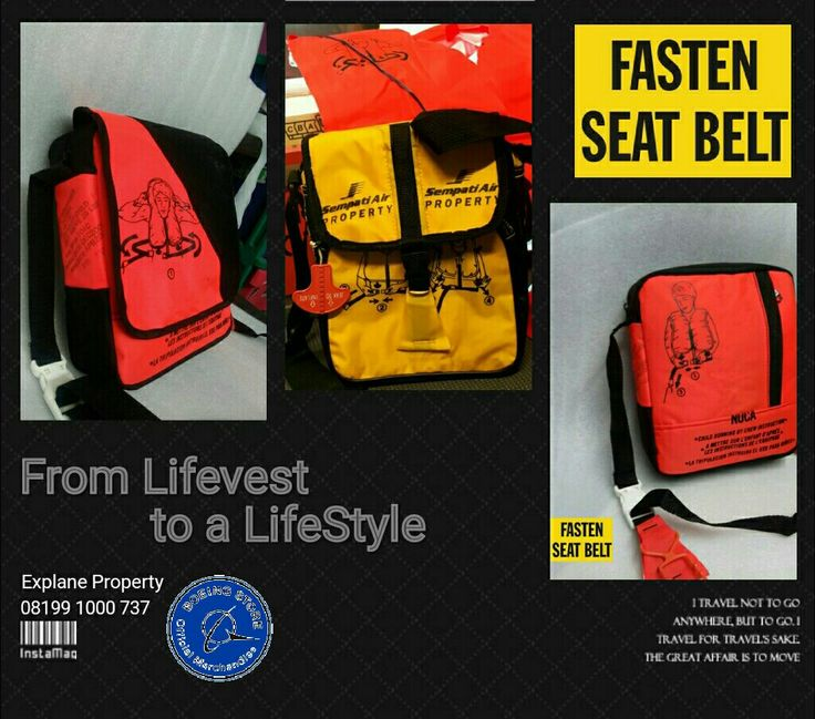 From life vest to Life style Original Aircraft Lifevest