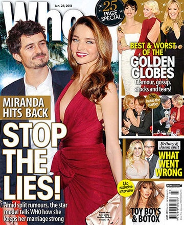 Miranda Kerr Hits Back: Stop The Lies!