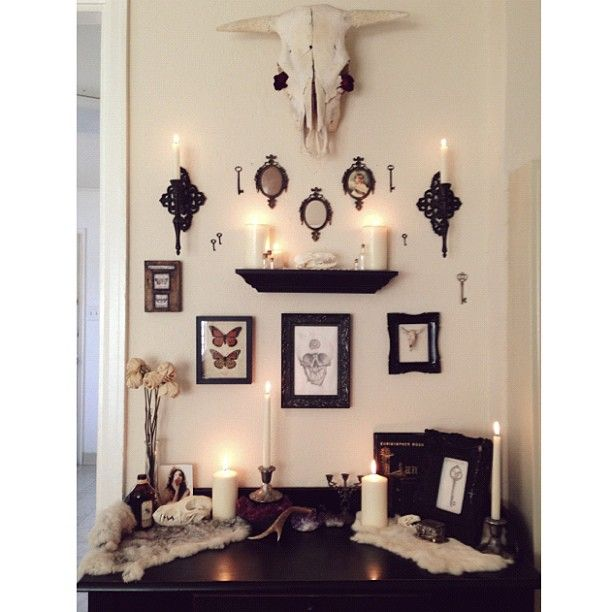 Best 20 witch house ideas on pinterest practical magic for Pagan decorations for the home