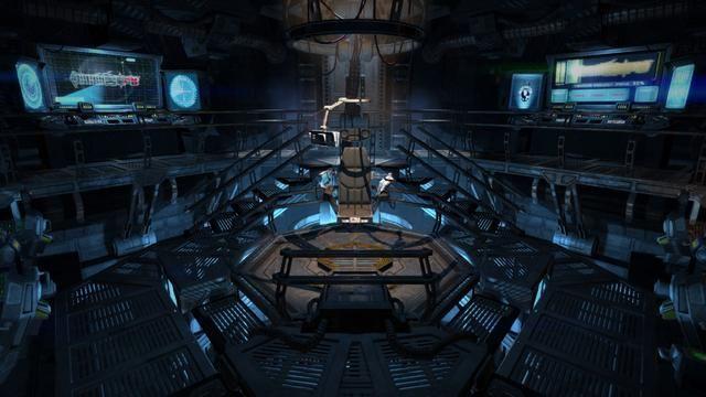 Halo Reach 3d Wallpaper Pc Spaceship Bridge Idea Sci Fi Interiors Pinterest