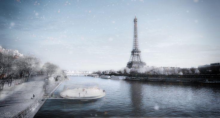 ANSKA Unveils Floating Platform Design for Paris Olympics