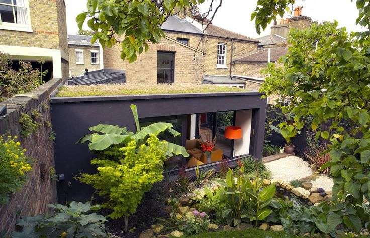 Green roof on box extension. www.methodstudio.london